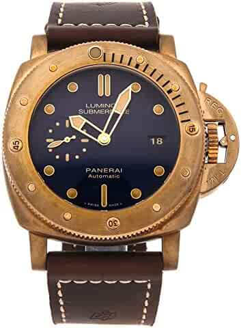 442c6823b07d Panerai Luminor 1950 Mechanical (Automatic) Blue Dial Mens Watch PAM 671  (Certified Pre