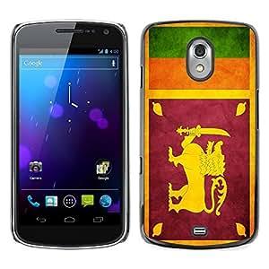 Shell-Star ( National Flag Series-Sri Lanka ) Snap On Hard Protective Case For SAMSUNG Google NEXUS / I9250