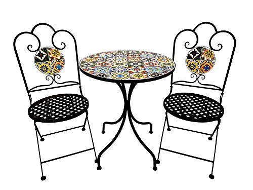 Top 10 recommendation small patio table and chairs mosaic 2020