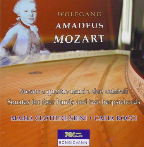 Sonatas for 4 Hands & Two Harpsichords