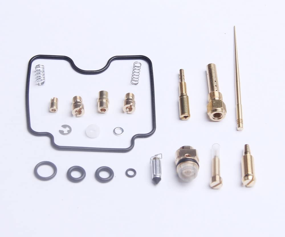 Carb Rebuild Kit Repair Yamaha Grizzly 660 4x4 2002 2003 2004 2005 YFM660FW