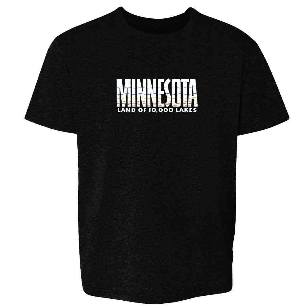 Minnesota Land Of 10000 Lakes Retro Vintage Travel T Shirt 2796