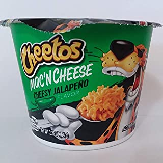 Cheetos Mac'n Cheese - Cheesy Jalapeno Flavor (2.25 oz Snack Cup)