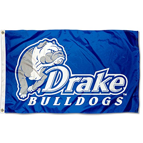 Drake Bulldogs University Large College Flag