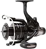 Daiwa Black Widow Baitrunner Freespool Fishing Reel 5000BR Size