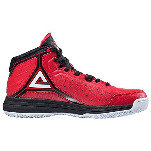 Peak Herren Classic Professional Basketballschuhe Rot schwarz