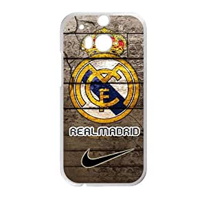 Real Madrid Fashion Comstom Plastic case cover For HTC One M8