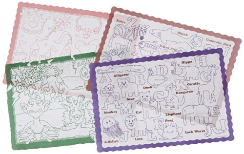 Hoffmaster 326191 Color Me Refill Placemat, 14
