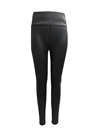 c69ef2ee69c divecica Woman Wetsuit Pants 3mm CR Smooth Skin Neoprene Warmth Pants for  Surfing Diving (S
