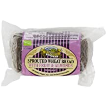Everfresh Organic Sprouted Fruit and Almond Bread 400 g (Pack of 4)