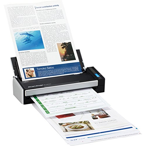 PC Hardware : Fujitsu ScanSnap S1300i Compact Color Duplex Document Scanner for Mac and PC