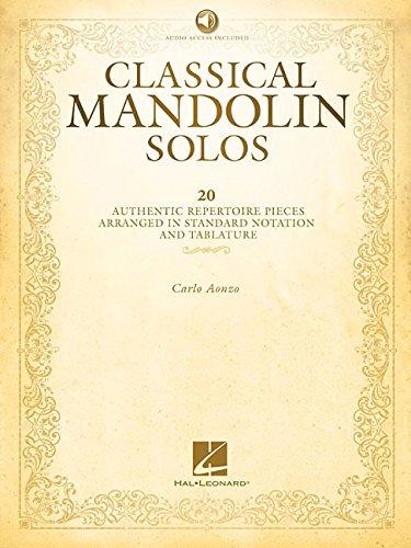 (Classical Mandolin Solos)
