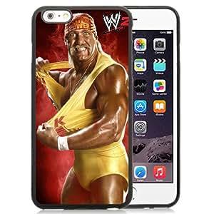 Customized Apple iPhone 6plus Case Wwe Superstars Collection Wwe 2k15 Hulk Hogan Wm02 in Black Phone Case For iPhone 6plus 5.5 TPU Case