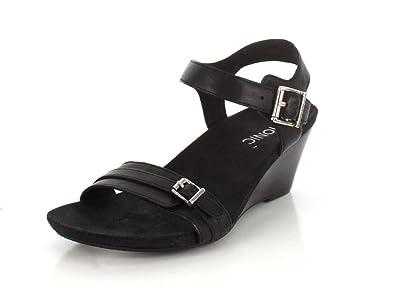 Vionic 382 Laurie Black Womens Sandals