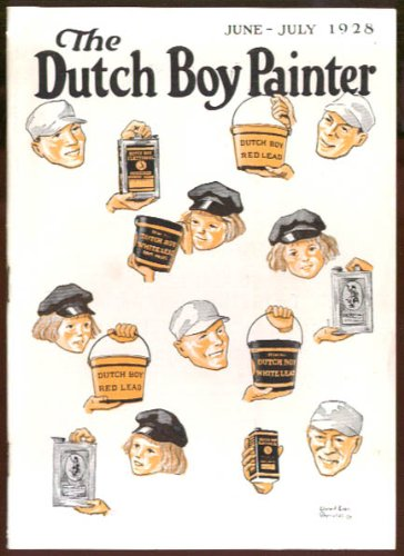 Dutch Boy Painter & Carter Times 6-7 1928 issue (Best Painters Of All Time)