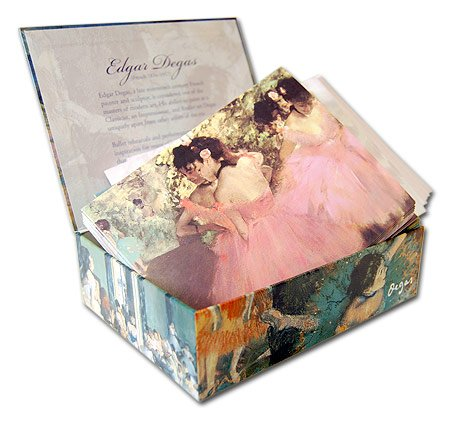 UPC 798925013679, Edgar Degas - Box Set of 20 Assorted Note Cards and Patterned Envelopes