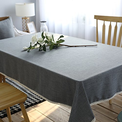 HOMEE Rectangular simple european style table cloth dust cloth Christmas decorations,90X130cm by HOMEE