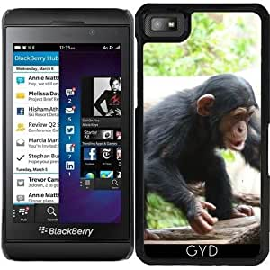 Funda para Blackberry Z10 - Chimpancé Joven 04 by More colors in life