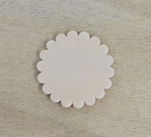 Leather Rosette (12 pack - Thick Leather Concho Rosette 1 3/4