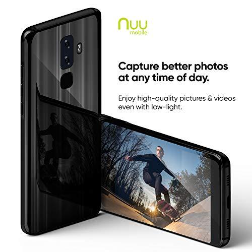 NUU Mobile G3 Plus Unlocked Cell Phone 64GB + 4GB RAM 4000 mAh Battery -  5 7