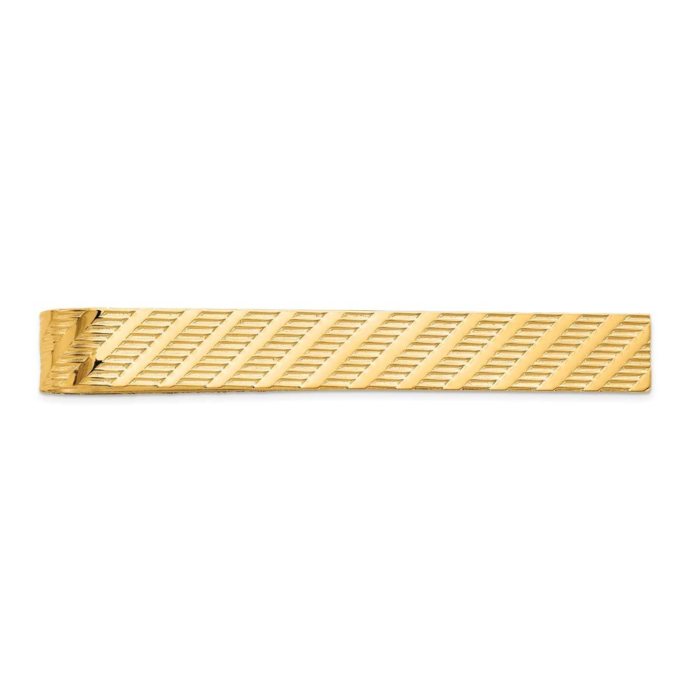 14K Yellow Gold Tie Bar
