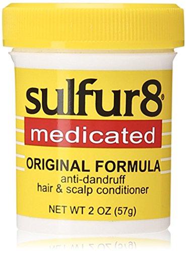 - Sulfur8 Medicated Regular Formula Anti-Dandruff Hair and Scalp Conditioner, 2 Ounce