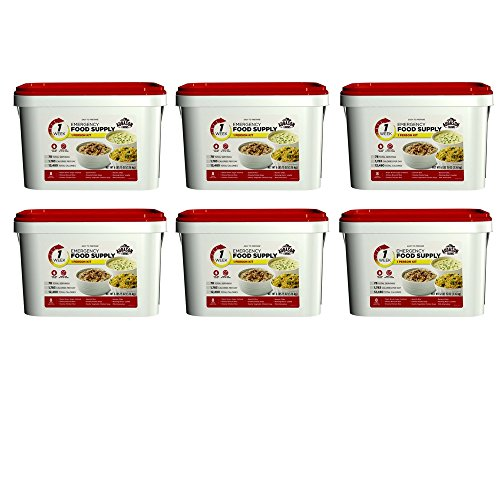 Augason Farms 1-Week 1-Person Emergency Food Supply Kit 6 lbs 15 oz (6 pack)