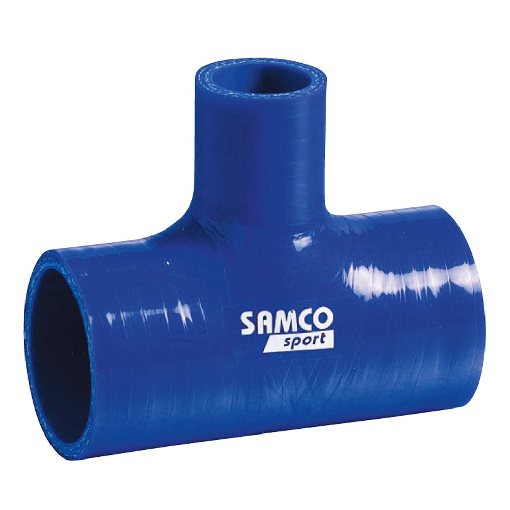Samco Silicon T-Piece Blue 60/25 102mm by Samco Sport (Image #1)