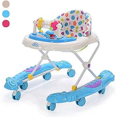 ZHANGYU Andador para bebés con Sistema de Frenos Altura Ajustable ...