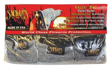 Sack-Ups Value-Pac Pistol 5 Per Pack Camouflage 207SA