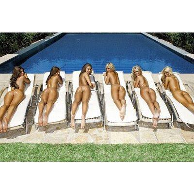 Chicas Calientes De Chicas Tomando Fotos Desnuda Sexy Póster Para