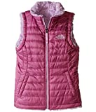 The North Face Reversible Mossbud Swirl Vest Girls' Wisteria Purple XXS