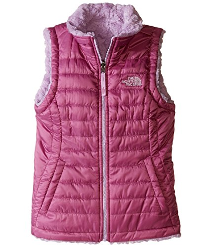 The North Face Reversible Mossbud Swirl Vest Girls' Wisteria Purple XXS by The North Face