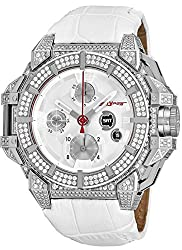 Stainless Steel with Real Diamonds Watch