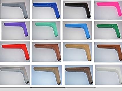 Supporti Per Mensole Legno.Ve Ca Italy Reggimensola Staffe E Supporti Per Mensole Libri Design In Legno Di Alta Qualita Made In Italy In 16 Differenti Colorazioni Rml Da 18 Cm