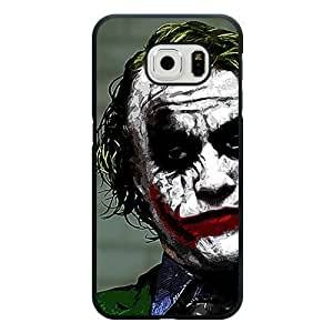 BESTER Galaxy S6 Edge Case, Customized Black Hard Plastic Galaxy S6 Edge Case, Batman Galaxy S6 Edge Case(Not Fit Galaxy S6)