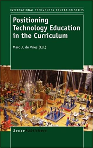 Book Positioning Technology Education in the Curriculum