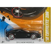 12 Corvette Z06 Hot Wheels CUSTOM Real Rider Wheels Limited Edition 1:64 Scale Collectible Die Cast Car Model