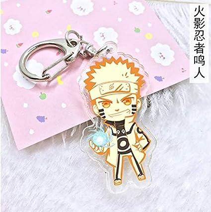 Amazon com : Anime Naruto Acrylic Keychain Uchiha Obito Deidara