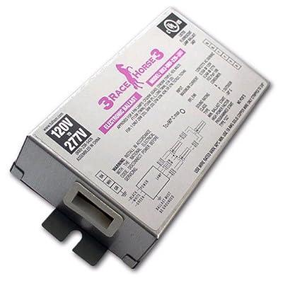Fulham Racehorse 3 RH3-UNV-226-C - 120/277 Volt - Programmed Start - Ballast Factor 0.87 - Power Factor 98 - Min. Temp. Rating -22 Deg. F - Operates 1 13 Watt Compact Fluorescent Lamp