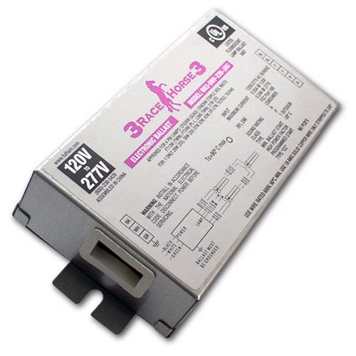 Fulham Racehorse 3 RH3-UNV-226-C - 120/277 Volt - Programmed Start - Ballast Factor 0.87 - Power Factor 98 - Min. Temp. Rating -22 Deg. F - Operates 1 13 Watt Compact Fluorescent Lamp by Fulham