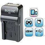 5 in 1 für Samsung BP1030 BP1130 Bundlestar® Baxxtar RAZER 600 II (70% mehr Leistung 100% mehr Flexibilität) Ladegerät zu Samsung NX210 NX200 NX300 NX300M NX500 NX1000 NX1100 NX2000 -- NEUHEIT mit Micro USB Eingang und USB-Ausgang, zum gleichzeitigen Laden eines Drittgerätes (GoPro, iPhone, Tablet, Smartphone..)