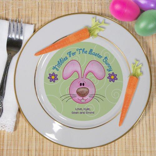 "Personalized Easter Bunny Keepsake Plate, Ceramic, 7.5"""