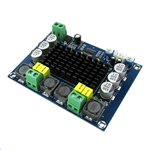 AOSHIKE TPA3116D2 Dual Channel Stereo DC12-26V Digital High Power Amplifier Board for Car Vehicle Computer Speaker DIY Speaker Home Theater System 2x120W