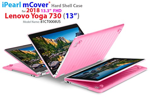mCover Hard Shell Case for New 2018 13.3 Lenovo Yoga 730 (13) Laptop (NOT Compatible with Yoga 710/720 / 910/920 Series) (Yoga 730 Pink)