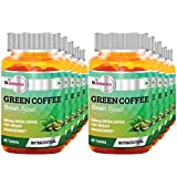 St.Botanica Green Coffee Bean Extract - 800mg - 60 Tablets- Pack Of 10