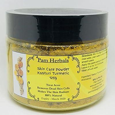 Pam Herbals Kasturi Turmeric Natural Skin Care Powder