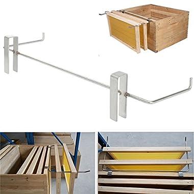 Janolia Beehive Frame Holder, Stainless Steel Beekeeping Frame Lift Support Bracket, Beekeeping Supplies Tool