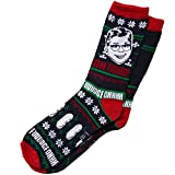 A Christmas Story Oh Fudge! Ugly Sweater Adult Crew Socks
