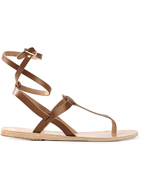 Estia sandals - Brown Ancient Greek Sandals D9gXex